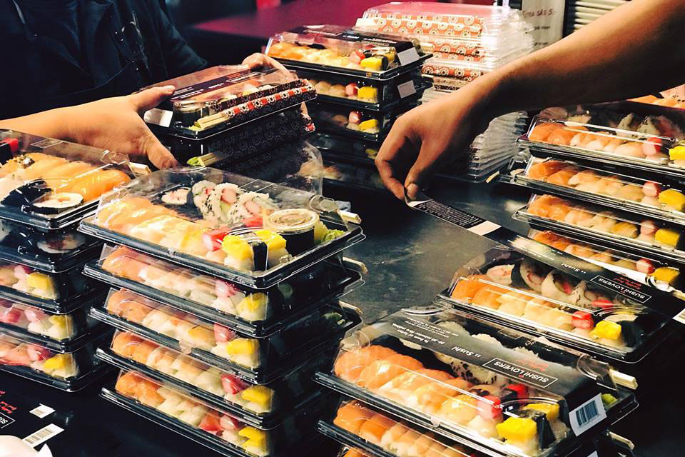 Sushi Lovers box